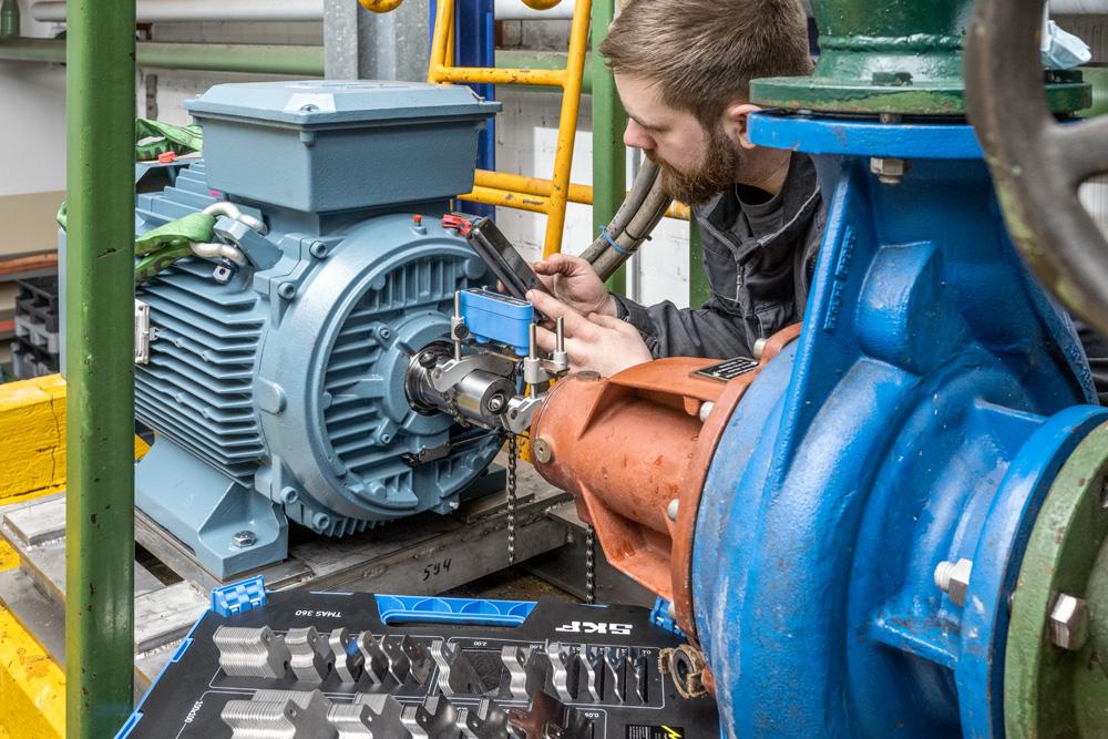 Instandhaltung Ihrer Maschinen und Industrienlagen.