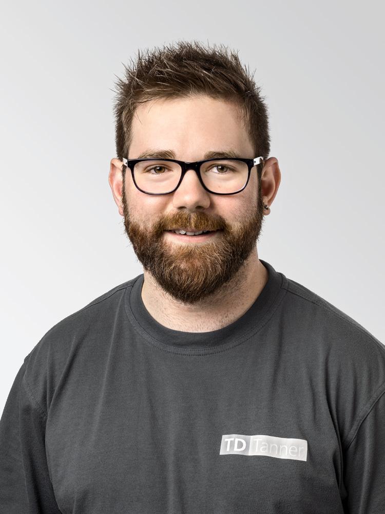 In der Firma TD Tanner unterstützt Michel Beer das Team als Projektleiter und Instandhalter.